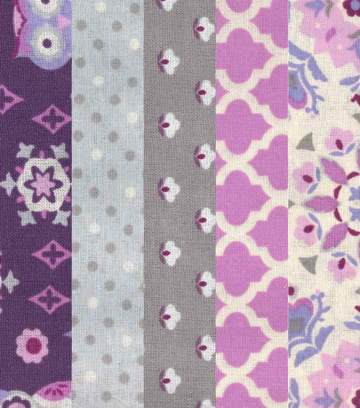 Jelly Roll Cotton Fabric 20 Strips 2.5\u0027\u0027-Owl, Dots & Floral