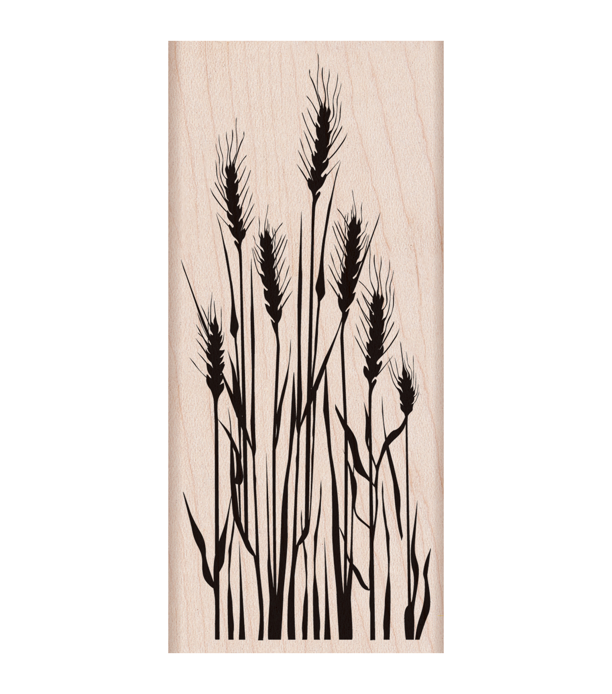 "Hero Arts Mounted Rubber Stamp 5""x2.25""-Tall Wheat"