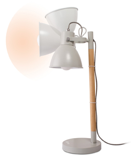 OttLite Avery LED Table Lamp-Grey
