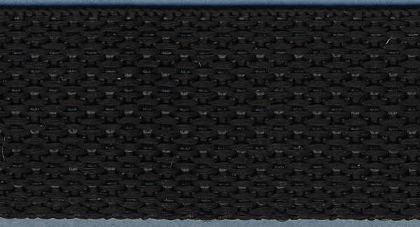 Polyester Webbing 1\u0022 Wide 15 Yards-Black