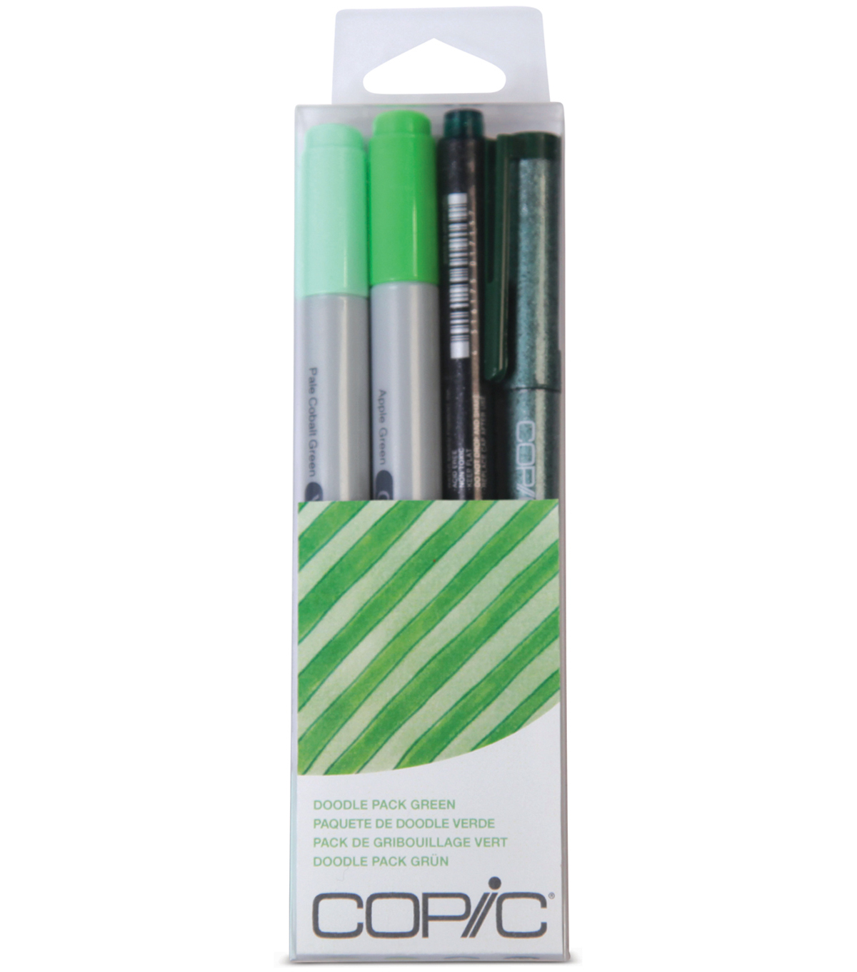 Copic Doodle Pack-Green