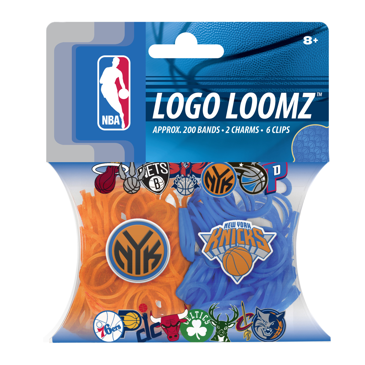 New York Knicks Logo Loomz Filler Pack by Forever Collectibles