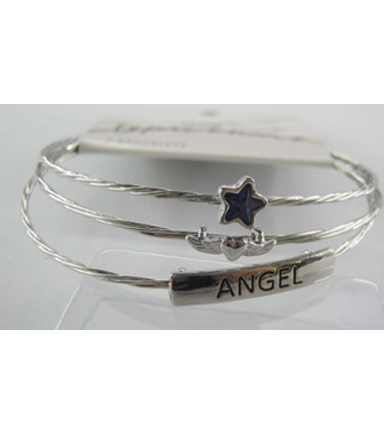 Bangle Expressions Silver Bracelet Assortment 205