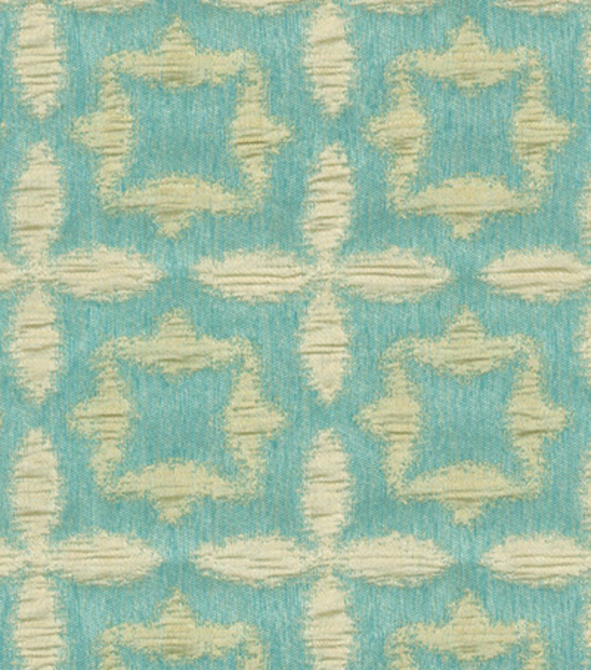 Waverly Upholstery Fabric-Stardust/Aquamarine