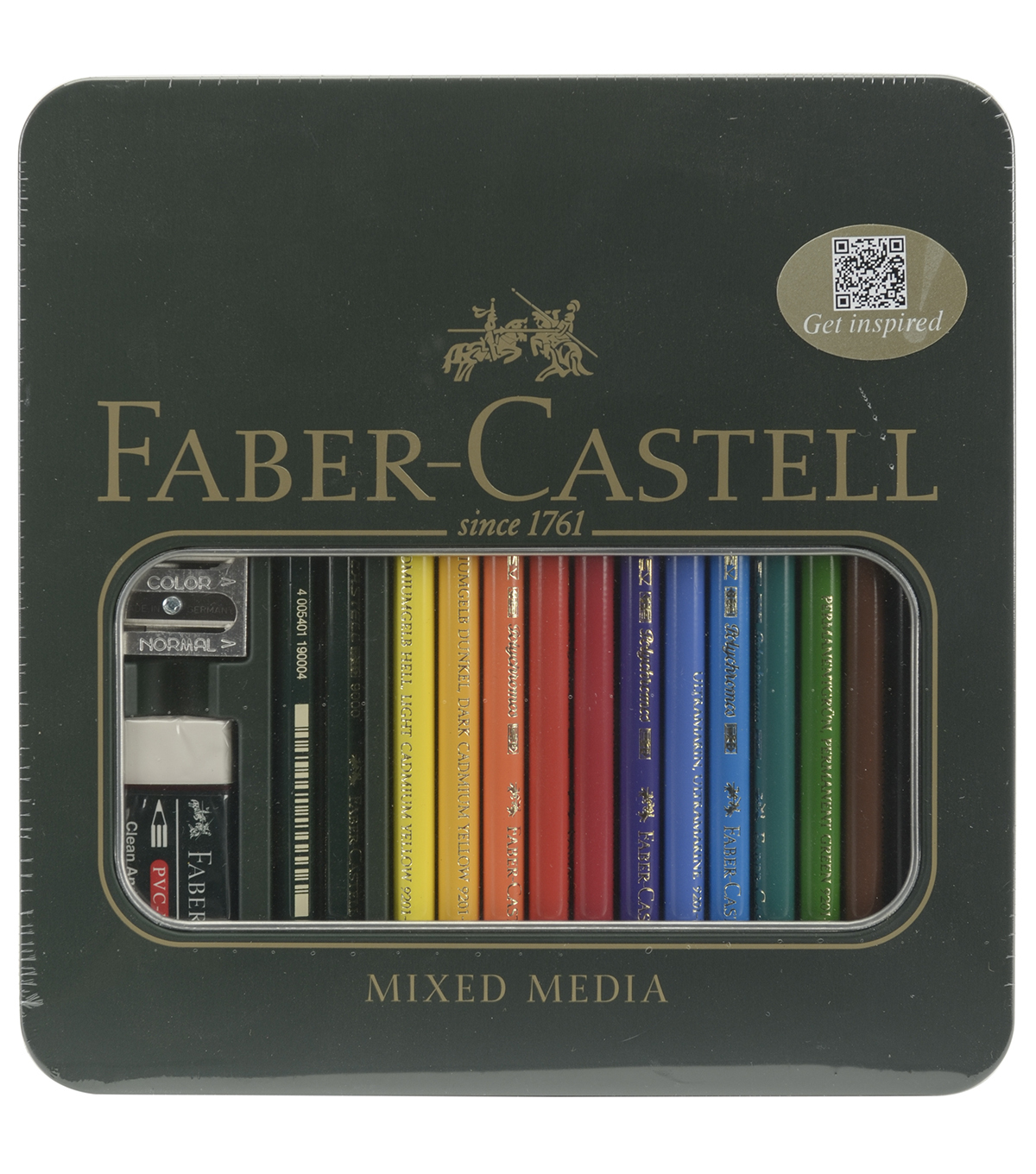 Faber-Castell® Polychromos Colored Pencil Set-Mixed Media