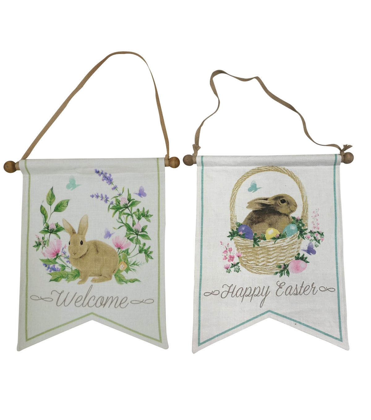 Photo Real Easter Bunny Banner
