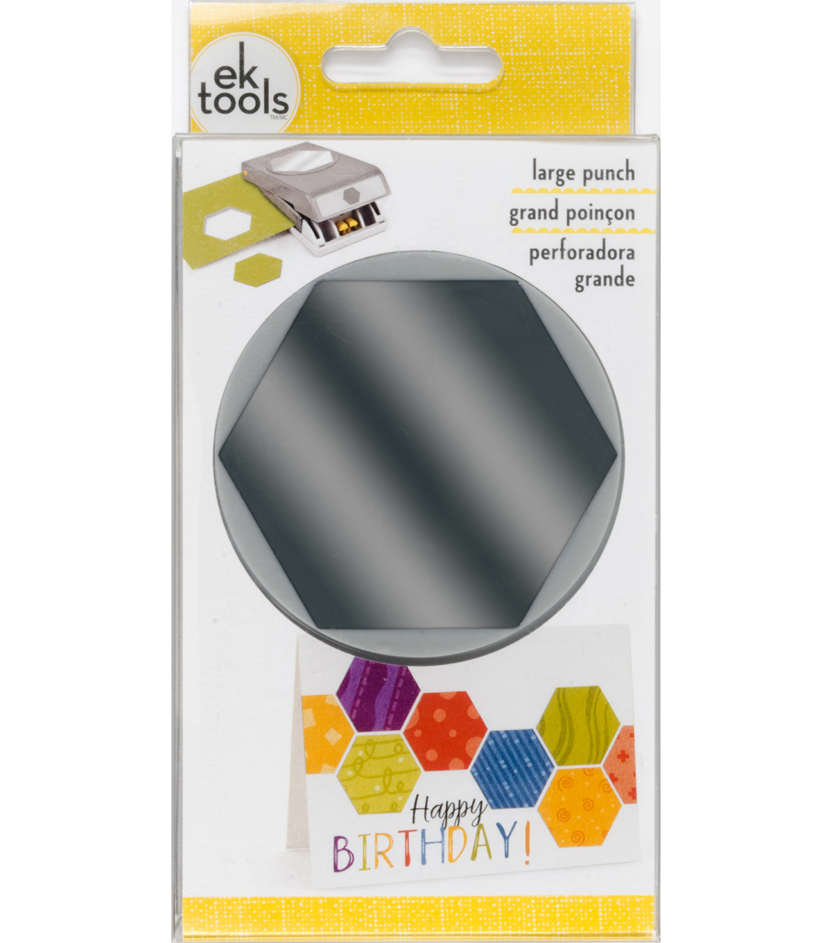 EK Tools Large Punch-Hexagon
