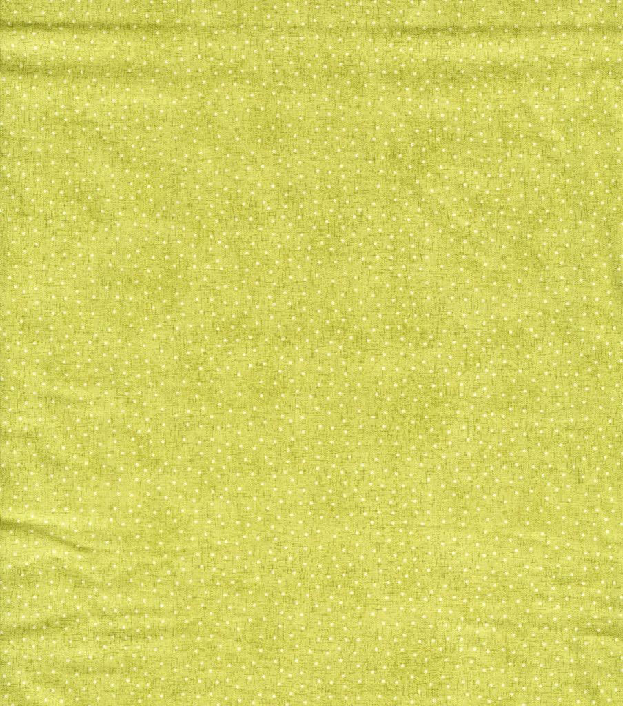 Keepsake Calico™ Cotton Fabric-Dot On Linen Green