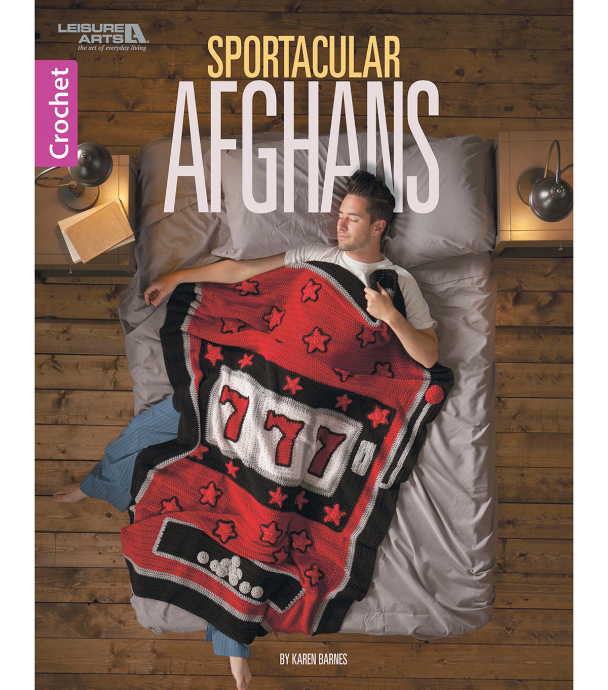 Leisure Arts Sportacular Afghans Crochet Book