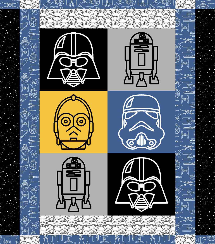 Star Wars Character Quilt Kit - Star Wars Quilt | JOANN : joann fabrics quilt kits - Adamdwight.com