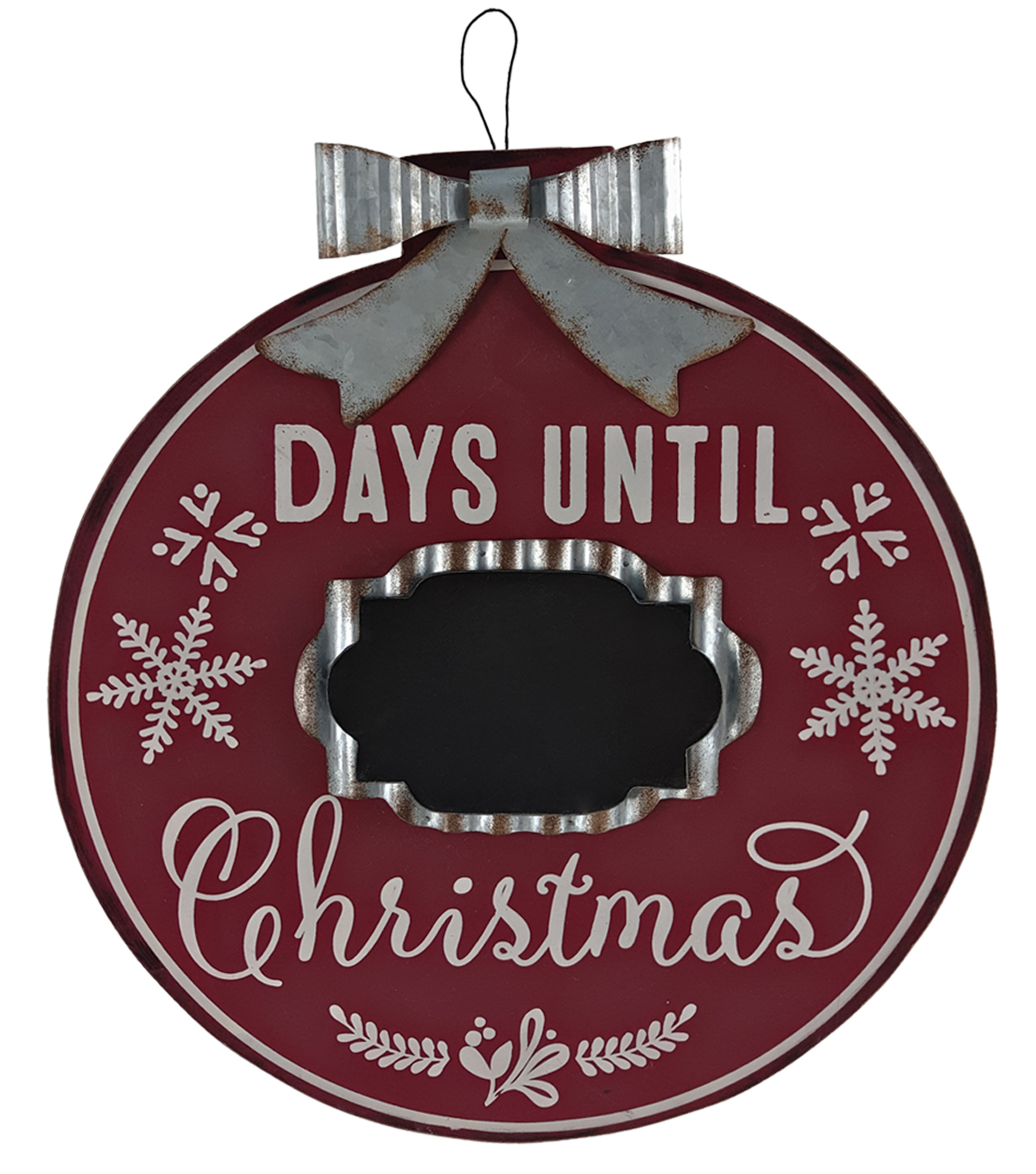 Maker\u0027s Holiday Christmas Wooden Wall Hanging-Days Until Christmas