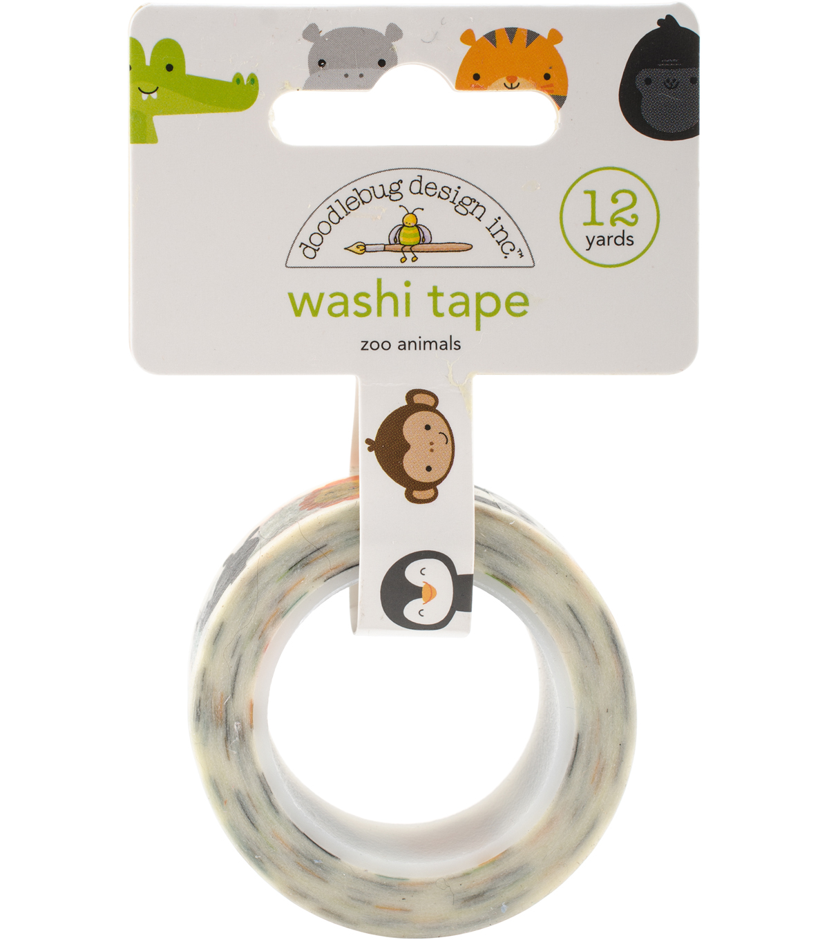 At The Zoo Washi Tape-Zoo Animals