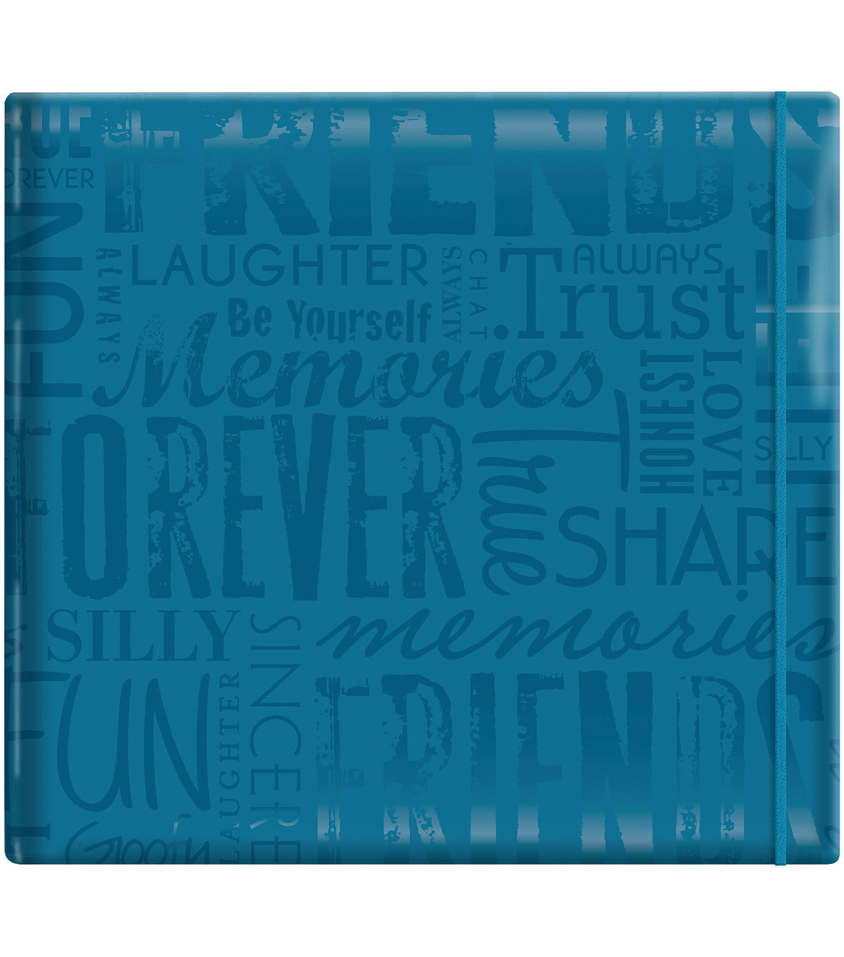 MBI Gloss Scrapbook 12\u0022X12\u0022-Friends-Teal