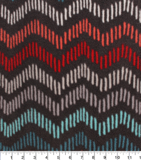 "Anti-Pill Fleece Fabric 61""-Marrakesh Chevron"