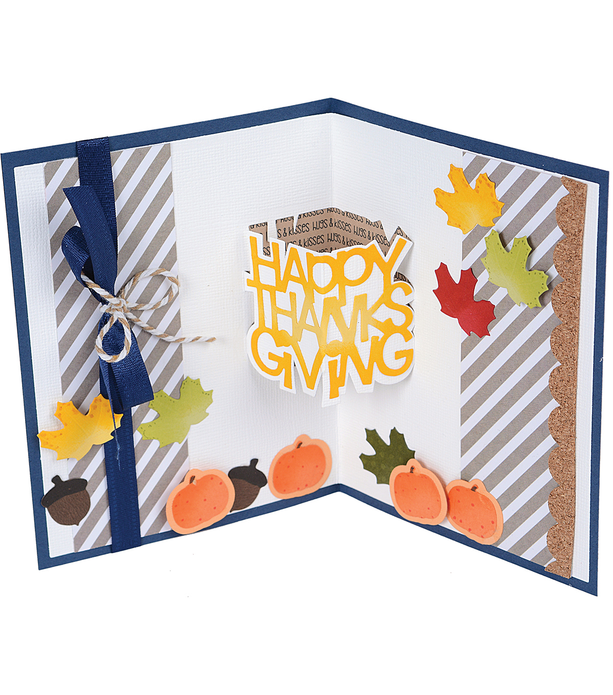 Sizzix® Thinlits™ 6 Pack Dies-Happy Thanksgiving 3-D Drop-ins
