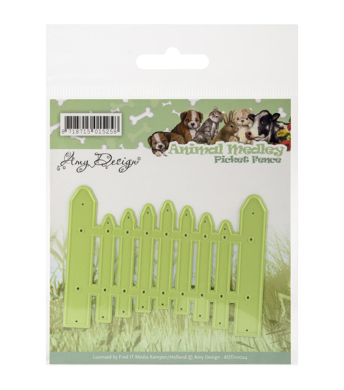 Amy Design Animal Medley Die-Picket Fence