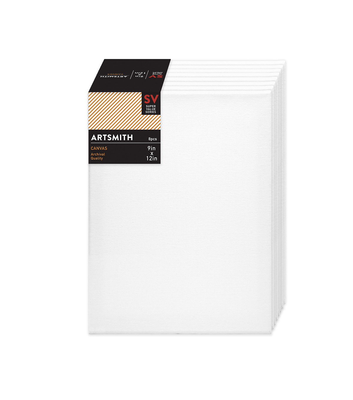 "Stretched Canvas Super Value Pack 9""x12"""
