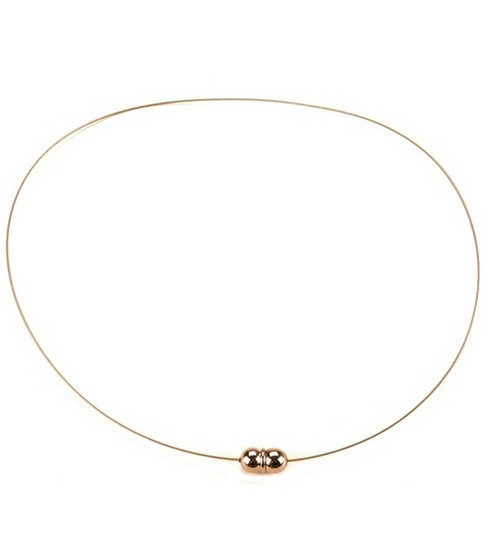 Darice Jewelry Designer 18\u0022 Necklace w/Magnetic Clasp-1PK/Gold