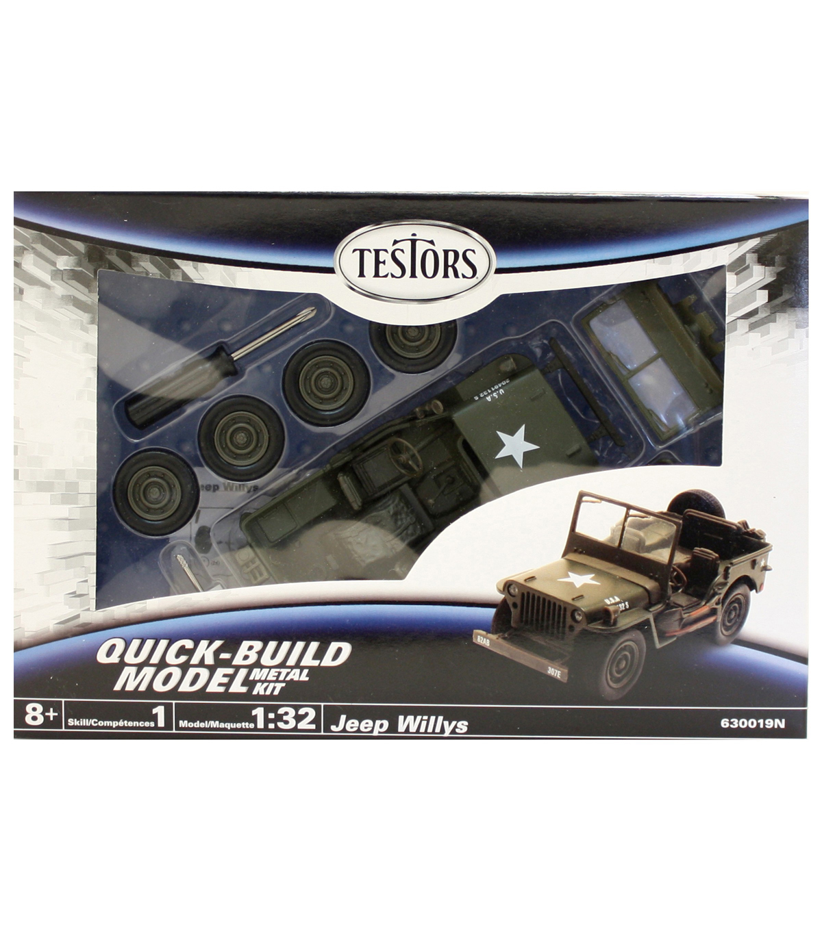 1:32 SCALE JEEP WILLYS Model Kit