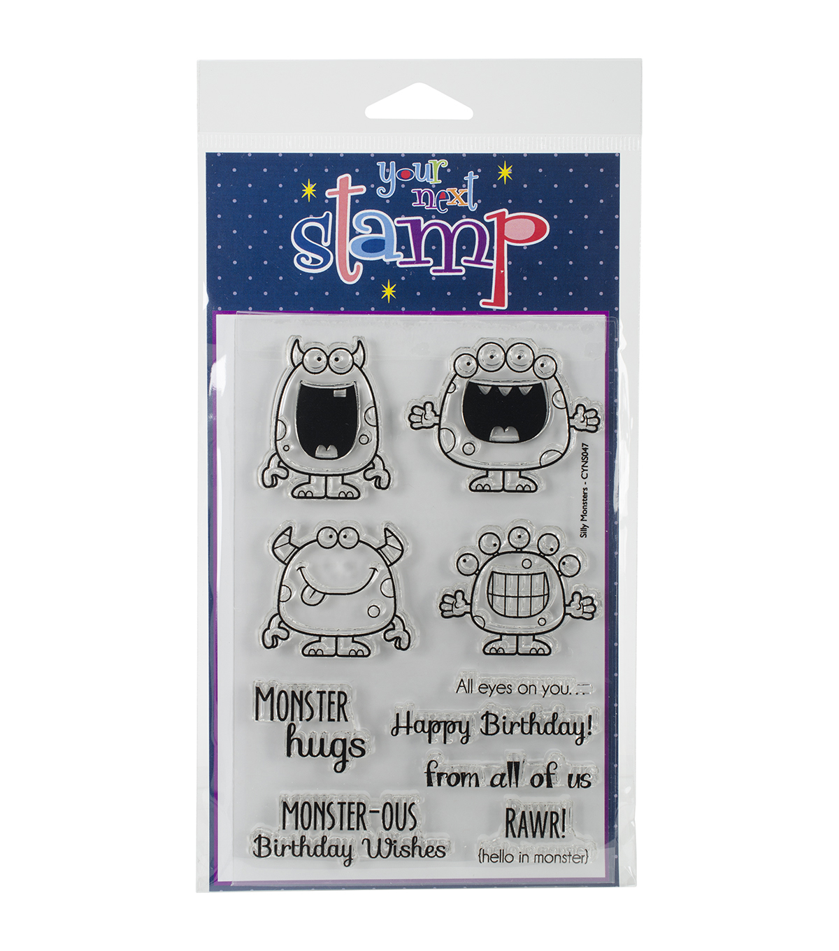 Your Next Stamp Clear Stamps-Silly Monsters