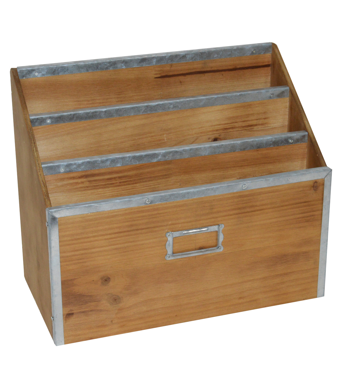 Farm Storage Metal & Wood File Letter Sorter