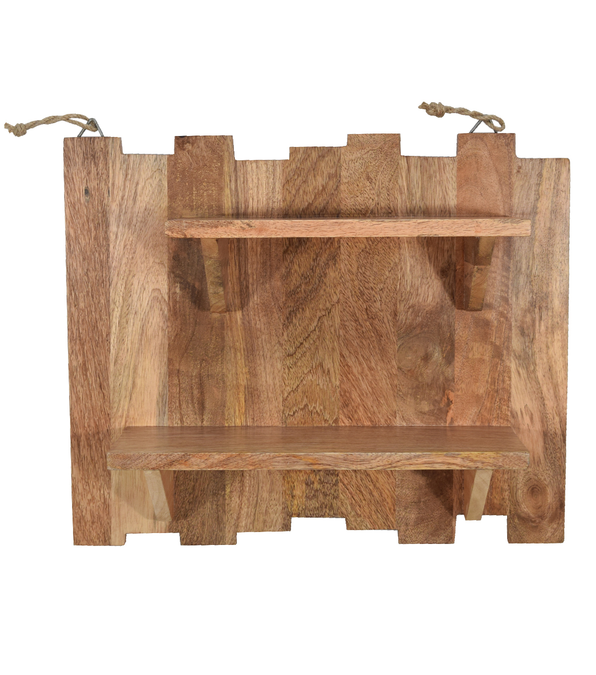 Fab Lab™ Wood Pallet with Shelves Wall Decor