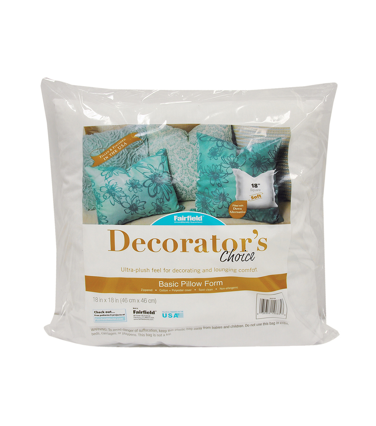 Decorator\u0027s Choice Pillow 18\u0022 x 18\u0022