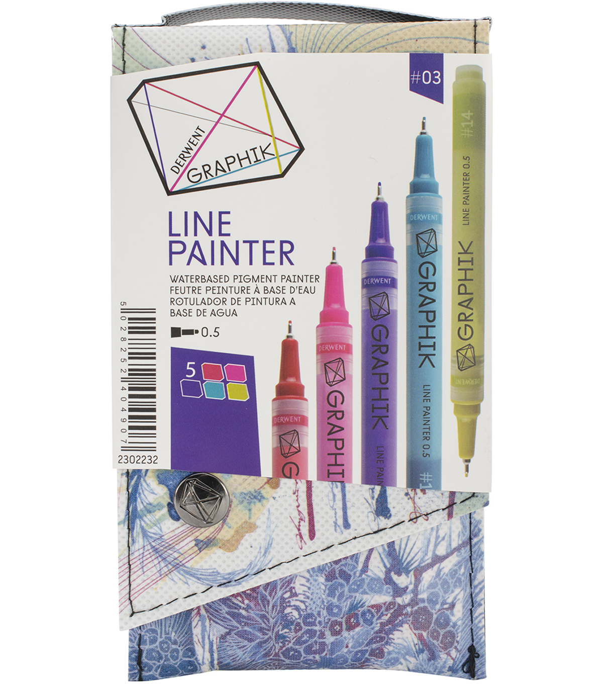 Derwent Graphik Line Palette #4 Painter Set