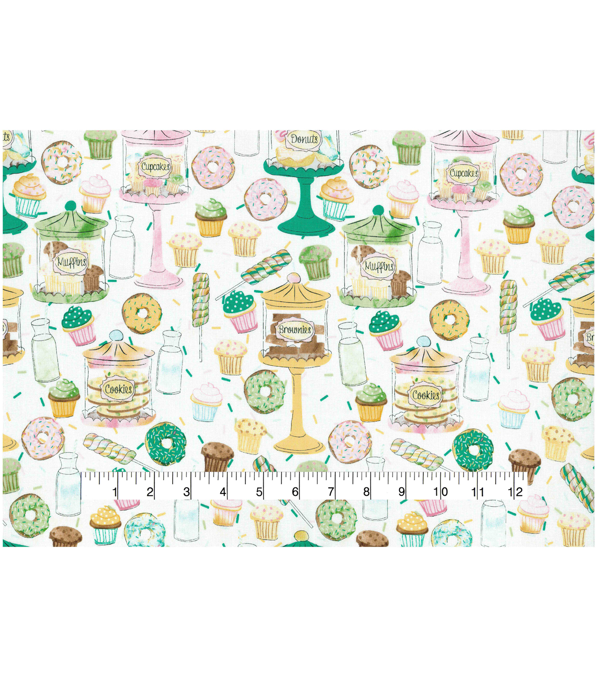 Novelty Cotton Fabric 44\u0022-Tasty Treats