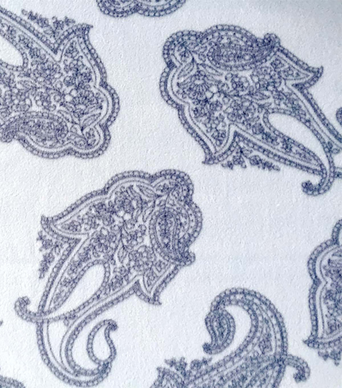 Anti-Pill Fleece Fabric 59\u0022-Blues Paisley