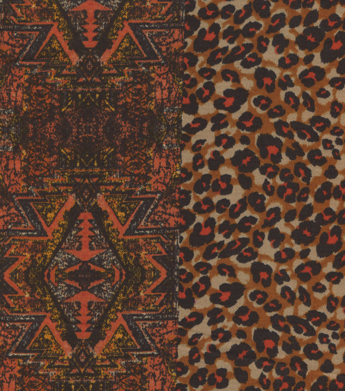 Ethnic Fabric - Polyester Crepe Print