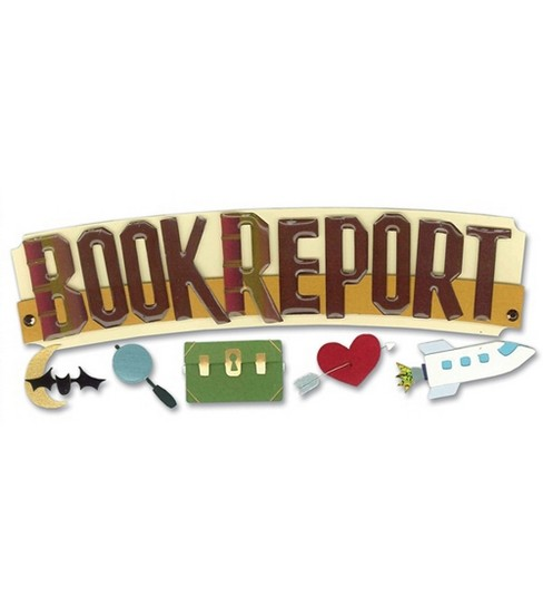 Jolee\u0027s Boutique Title Wave Stickers-Book Report