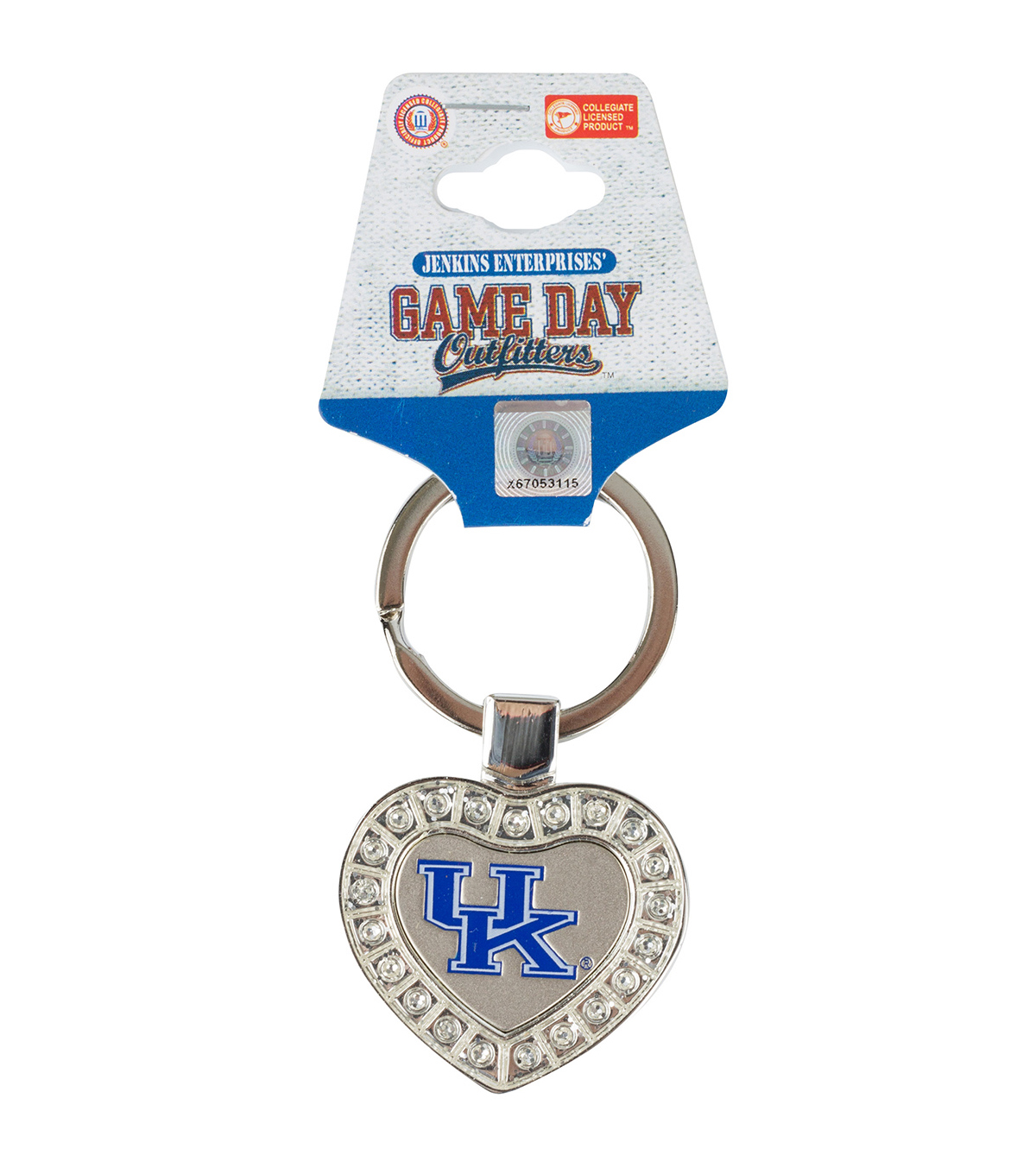 University of Kentucky Heart Keychain