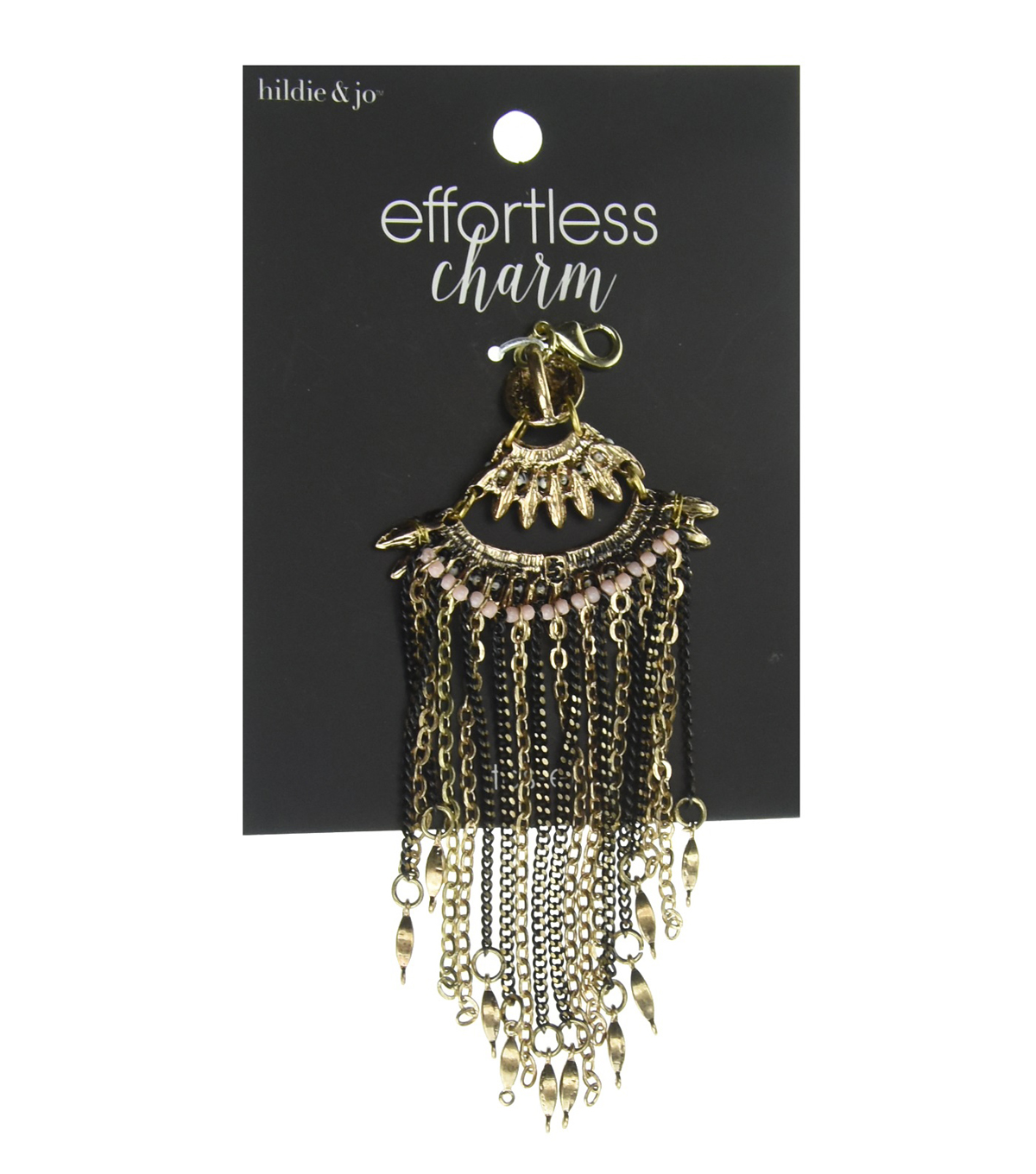 hildie & jo™ Effortless Charm Fan Gold Tassel