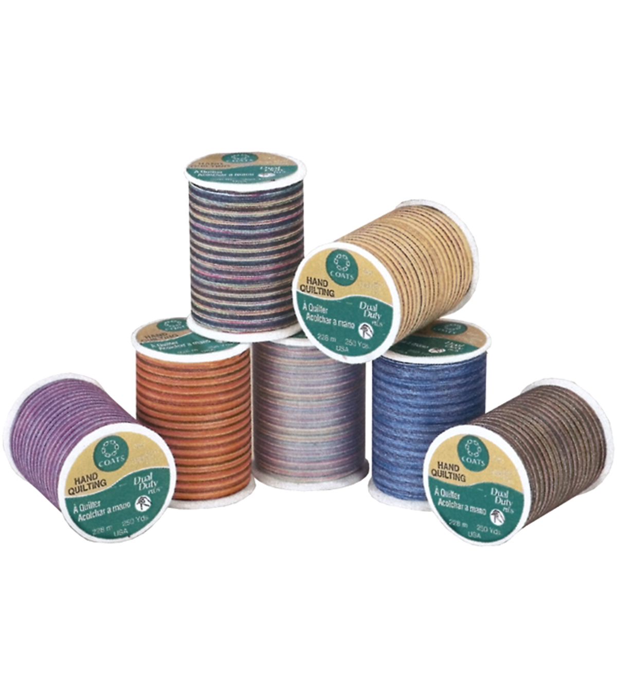 Coats & Clark Dual Duty Plus Multicolor Hand Quilting Thread