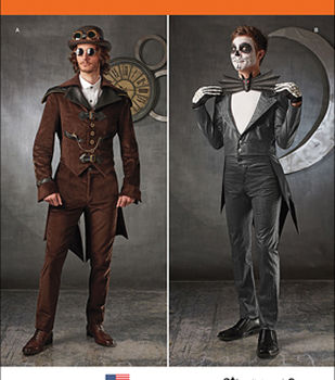 Simplicity Patterns 1039-Men\u0027s Cosplay Costumes