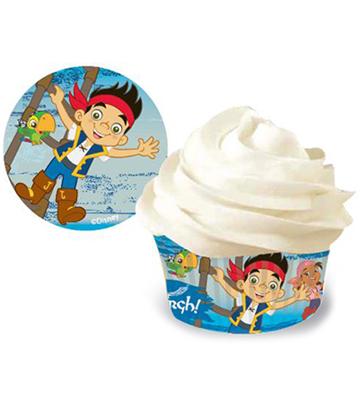 Wilton® Standard Baking Cups 50/Pkg-Jake and the Never Land Pirates