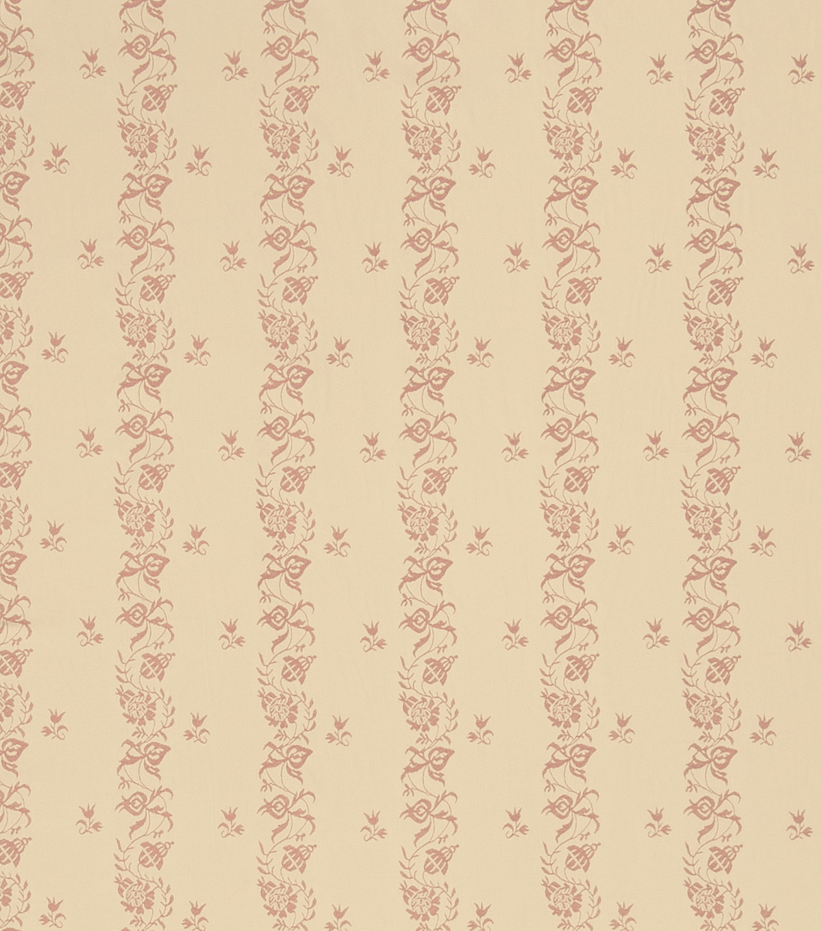 French General Upholstery Fabric 54\u0022-Curtis/Rose