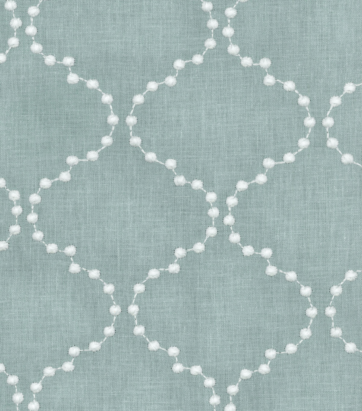 "HGTV Home Upholstery Fabric 54""-Pearl Drop Emb Mist"