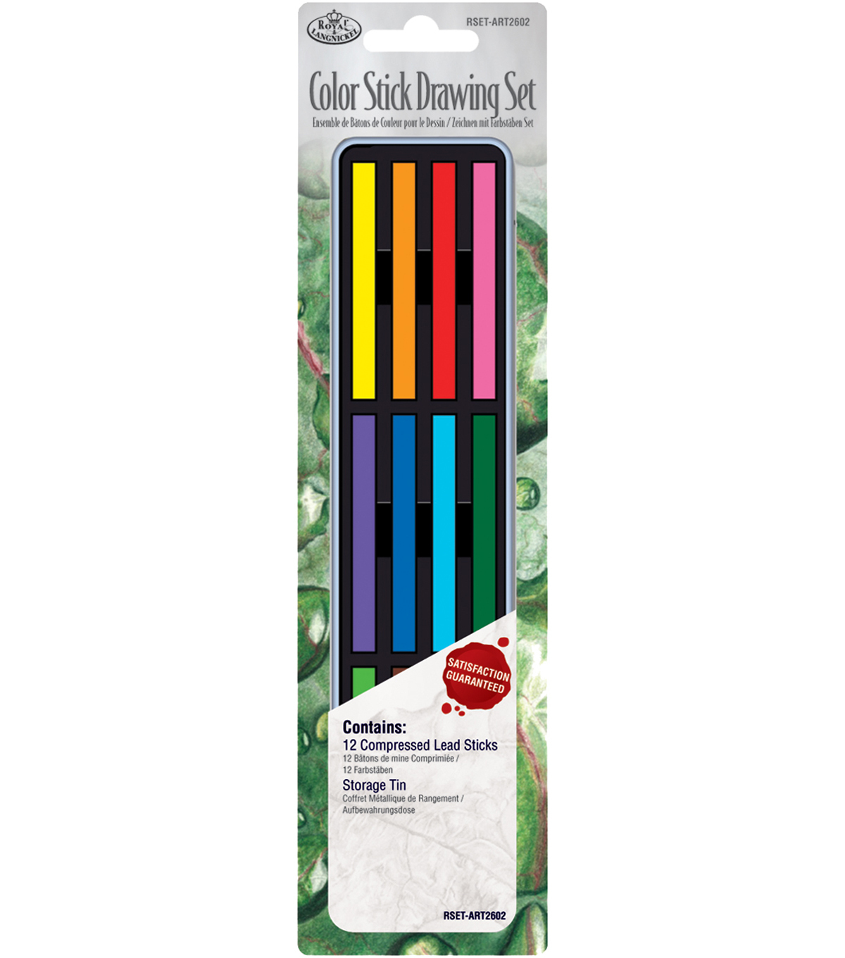 Royal Brush Color Stick Drawing Set-12PK