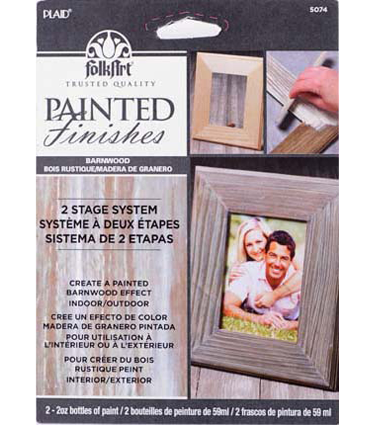FolkArt Painted Finishes Kit-Barnwood