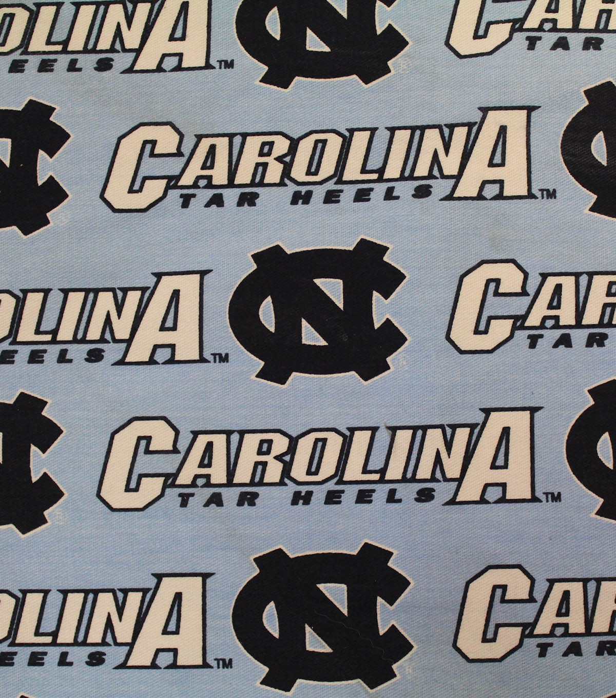 University of North Carolina Tarheels Canvas Fabric 58\u0022-Logo
