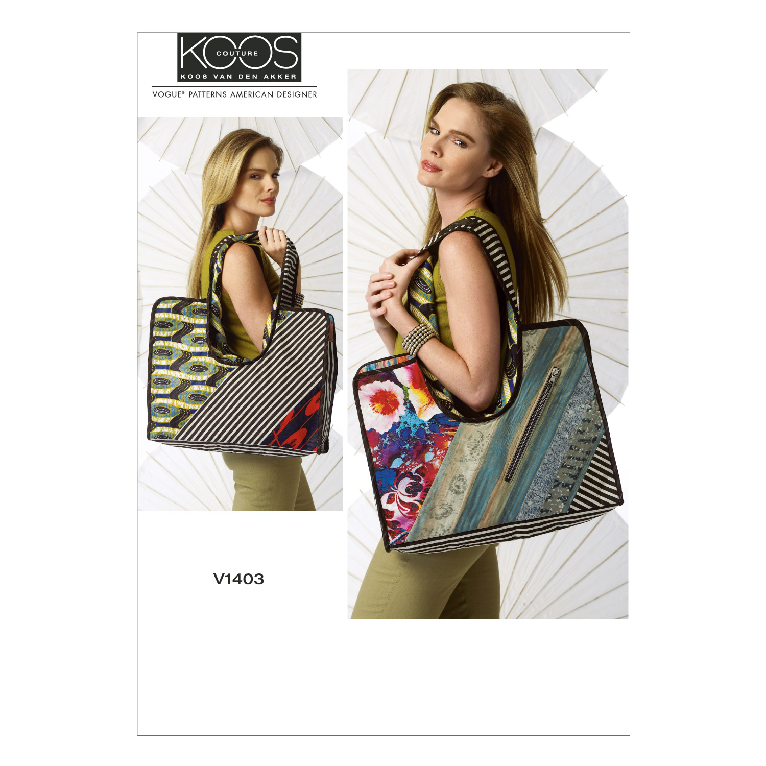 Vogue Patterns Crafts Totes & Bags-V1403