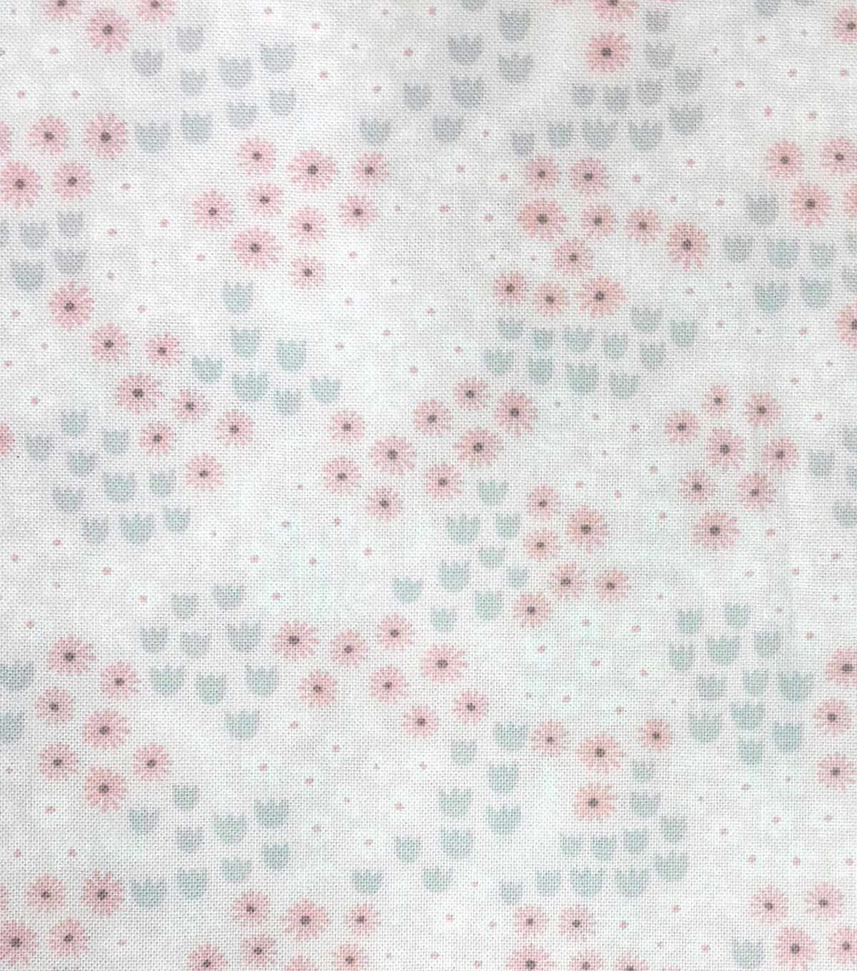 Magic Moon Cotton Fabric 43\u0022-Floral Tiny Dancer