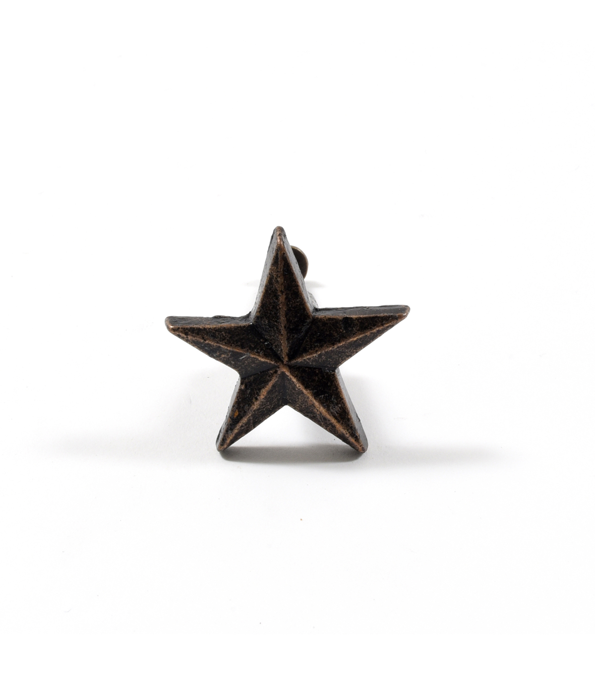 Dritz Home Cast Iron Star Knob-Bronze