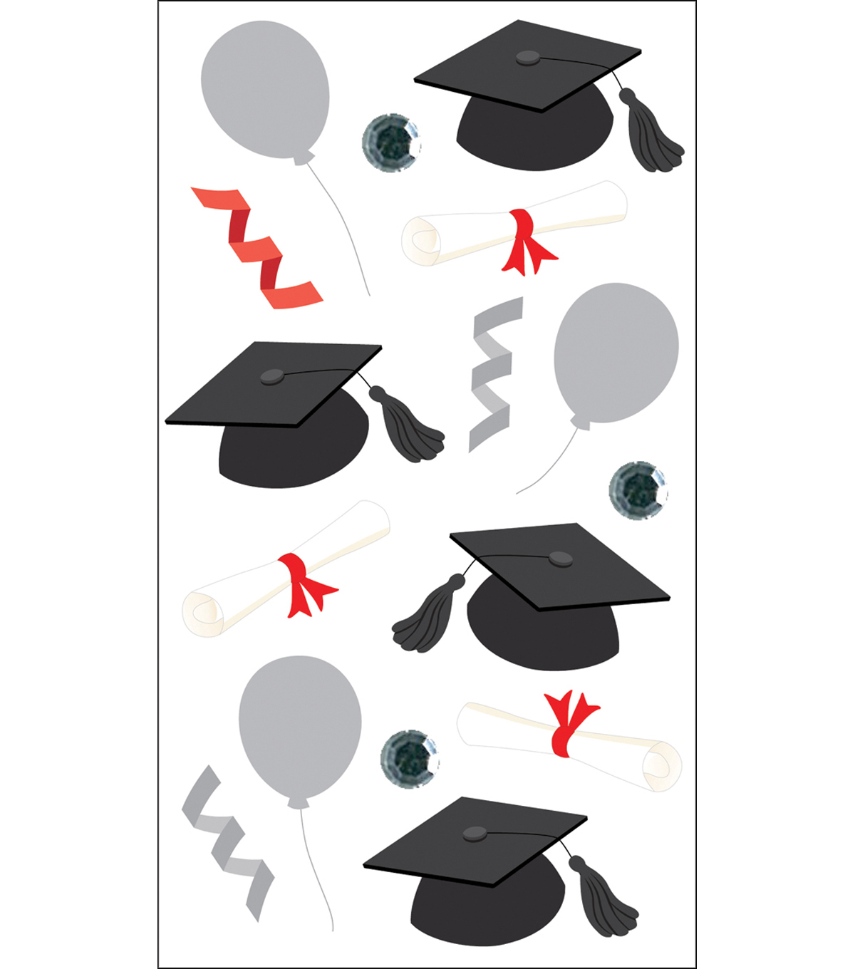Vellum Stickers-Graduation