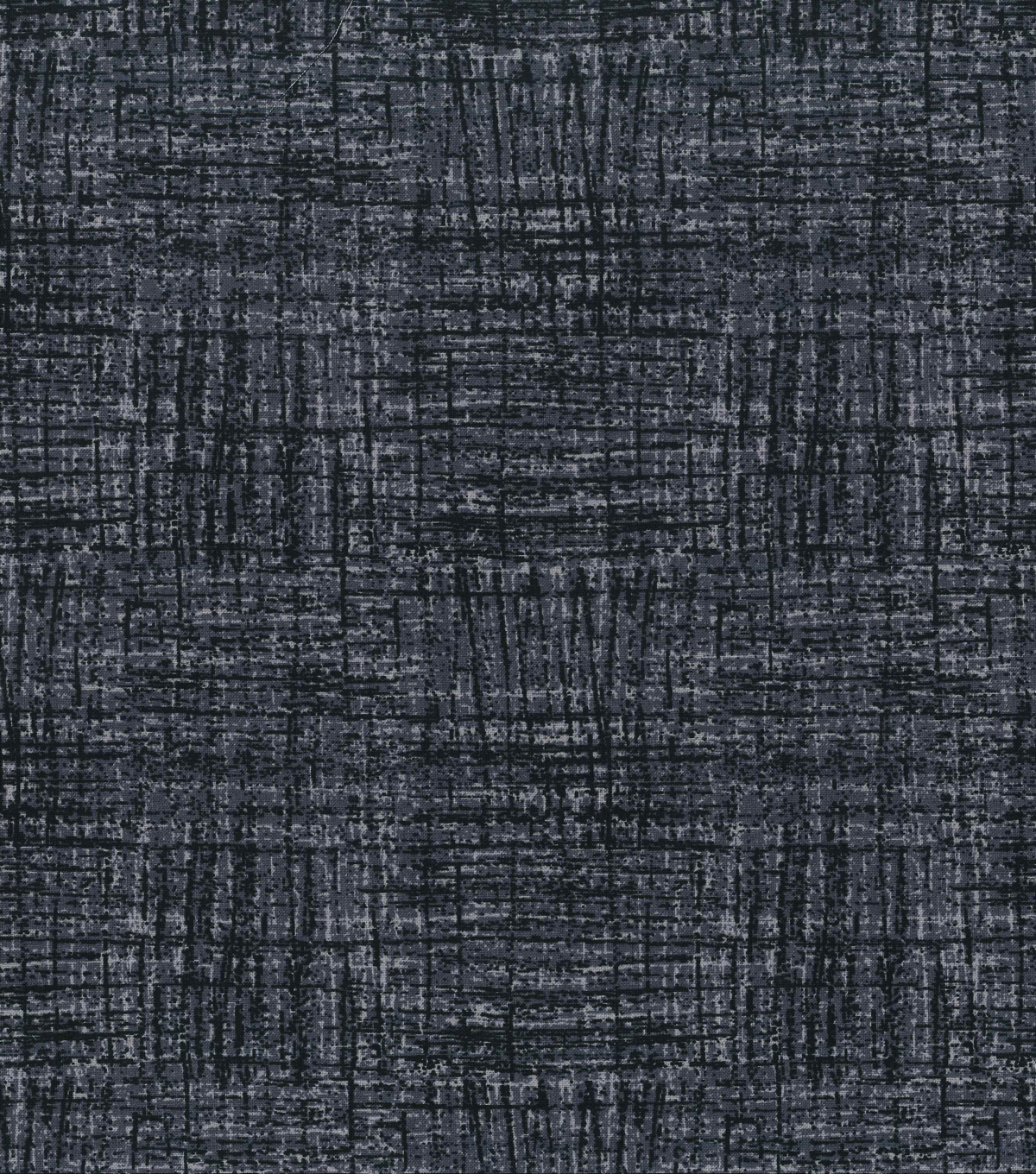 Keepsake Calico™ Cotton Fabric 43\u0022-Black Crosshatch Blender
