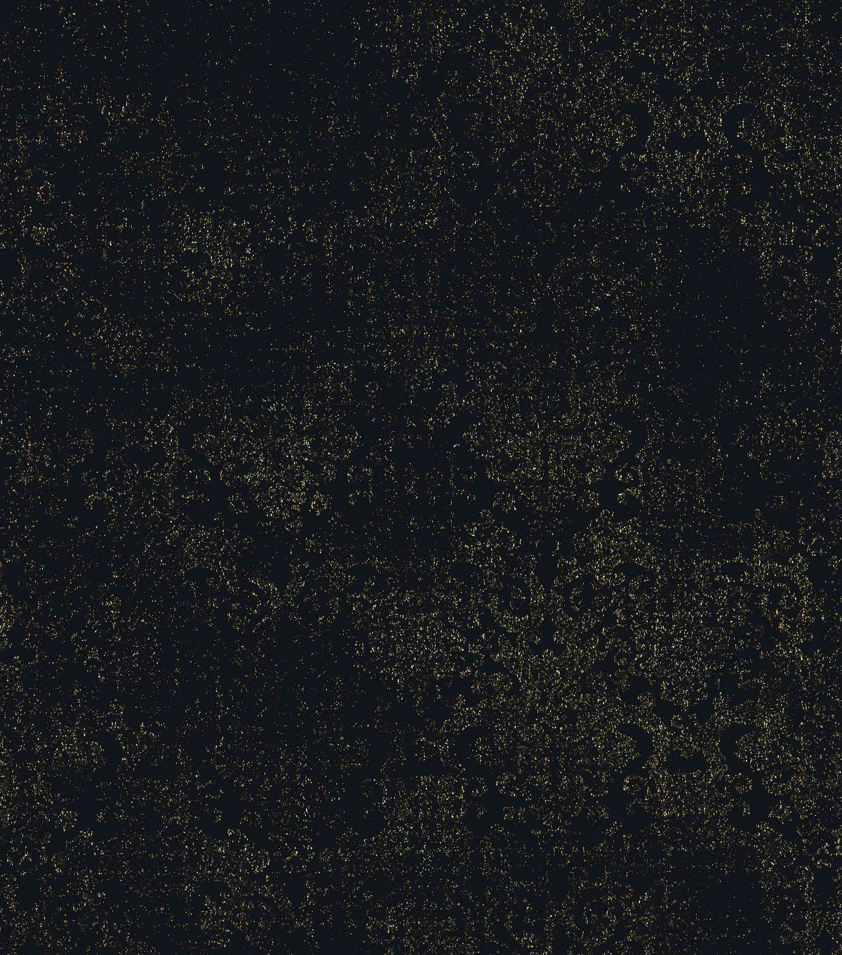 Foiled Stretch Velvet Fabric-Black Gold