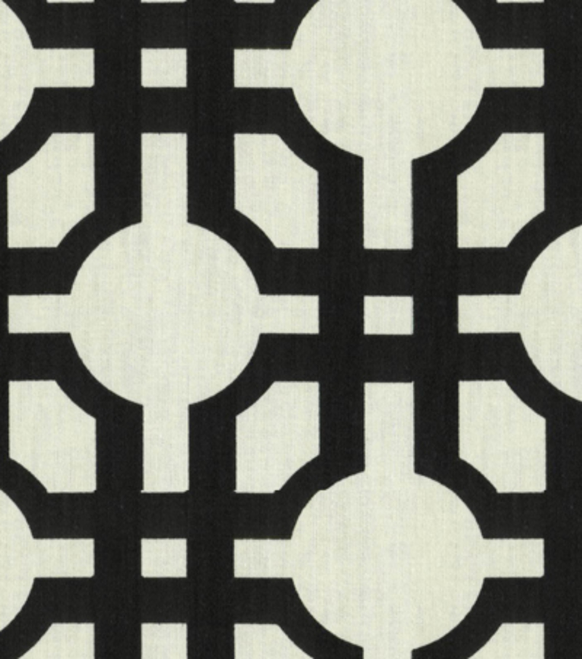 Waverly Upholstery Fabric 54\u0022-Groovy Grille/Licorice