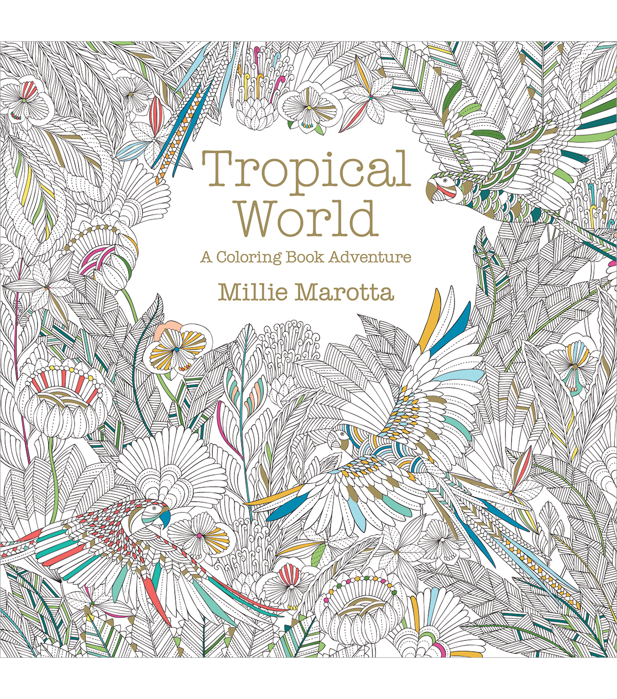 Tropical World Coloring Book | JOANN